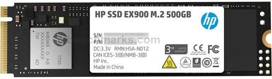 HP EX900 Series