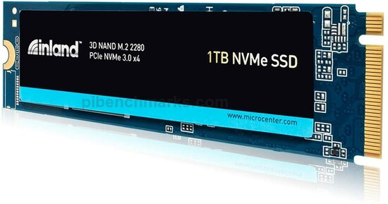 Inland PCIe NVMe SSD