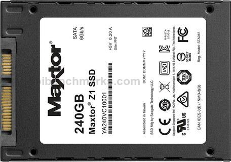 Maxtor Z1 SSD