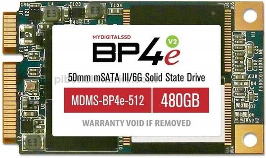 MyDigitalSSD BP4e mSATA SSD