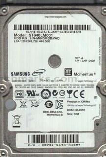 Samsung Momentus 2.5
