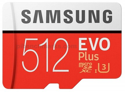 Samsung Evo+ (EXXQT C10 U1)