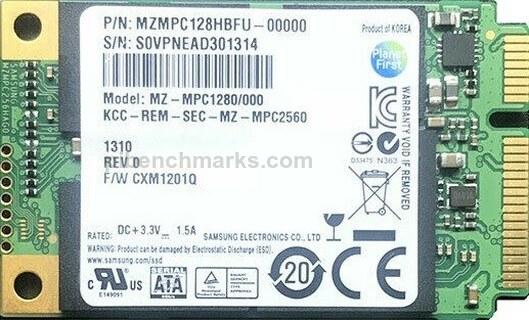 Samsung PM830 mSATA Series