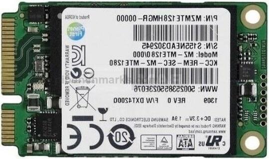 Samsung PM851 mSATA Series