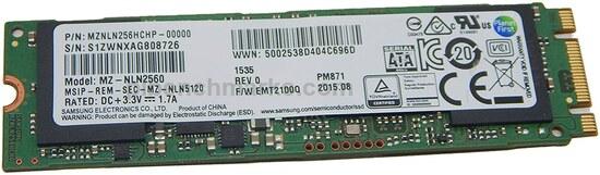 Samsung PM871 M.2 Series