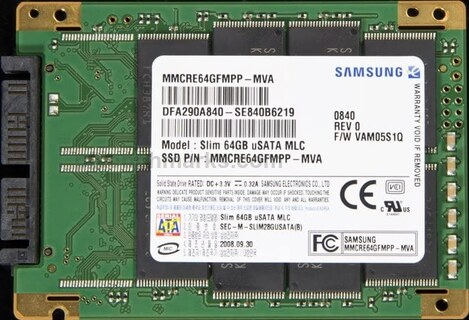 Samsung Slim MLA uSATA Series