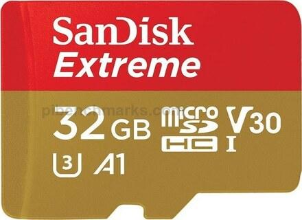SanDisk SD Extreme (SC128 A1 C10 U1)