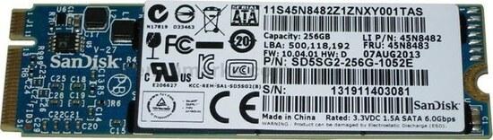 SanDisk OEM SD5SG2 M.2