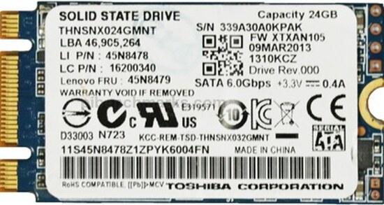 Toshiba THNSNX Series mSATA