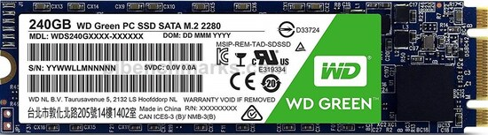 Western Digital Green M.2