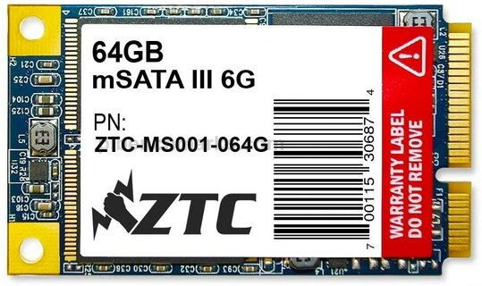ZTC Bulwark mSATA SSD