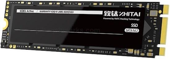 ZhiTai SC001 Active M.2 SSD